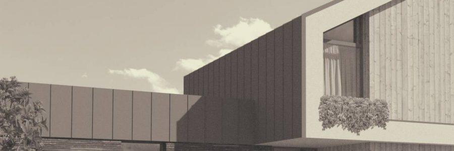 Gyvenamasis namas – 2019 Vilnius – Architektas: R. Kazickas.