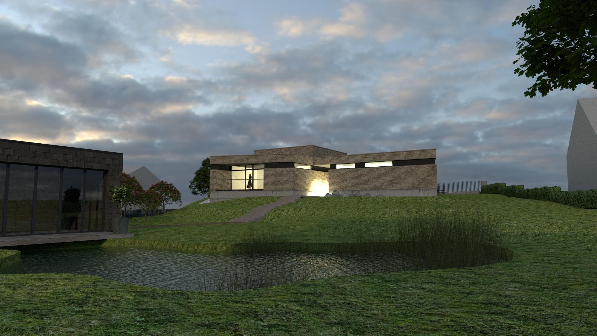 Gyvenamasis namas - 2019 Vilnius 2A - Architektas: R. Kazickas.